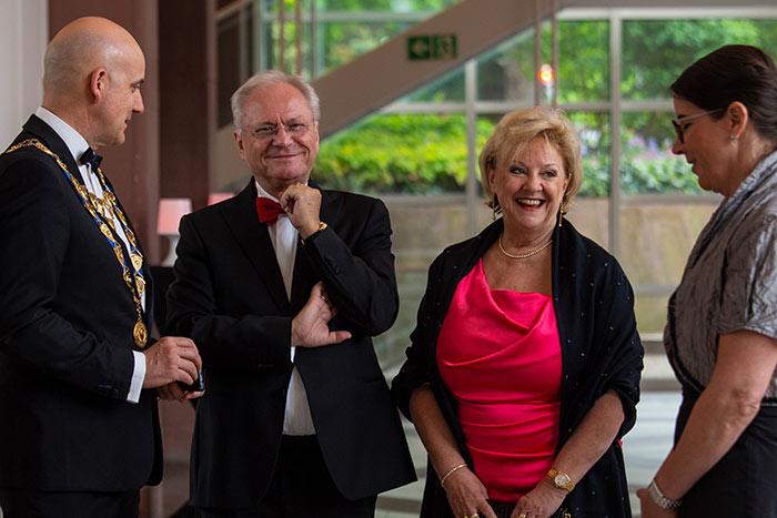 IHK Ehrenpräsident Bernd Bechtold auf der JCI Senatorenkonferenz 2018 in Karlsruhe Ettlingen