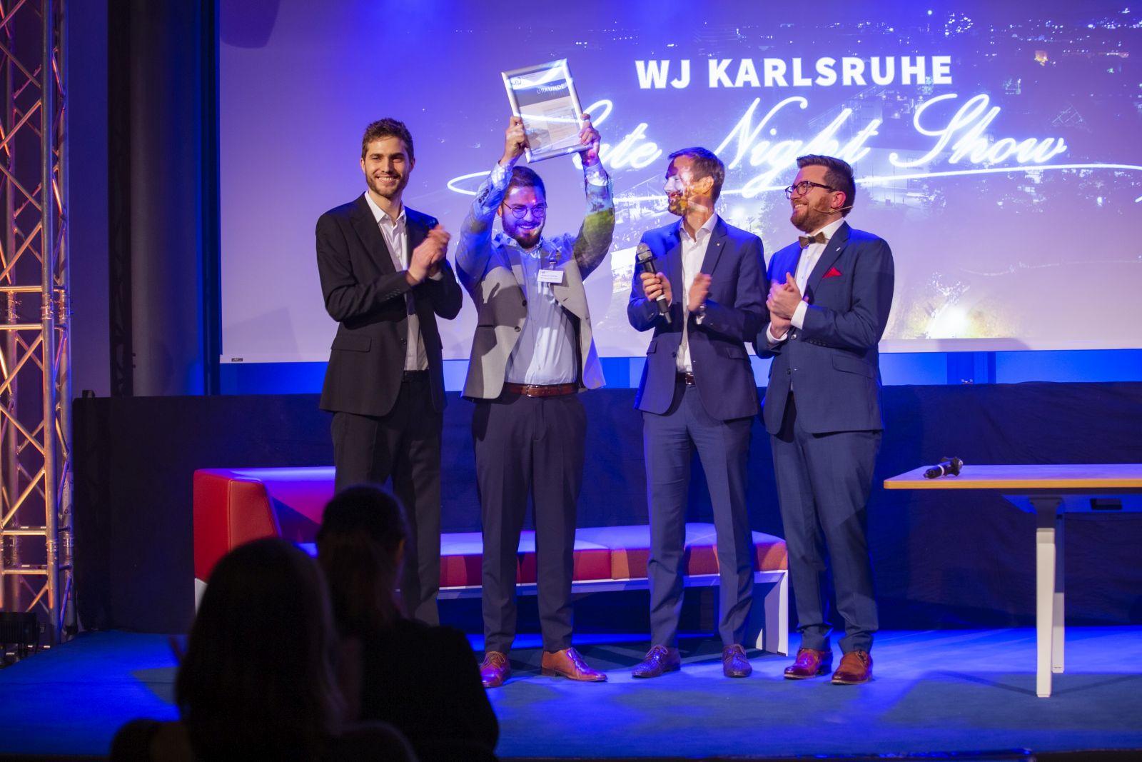 JHV 2019 Jahreshauptversammlung in der IHK mit Daniel Stöck Benjamin Völlinger Paul Schmidt Rising Star Award