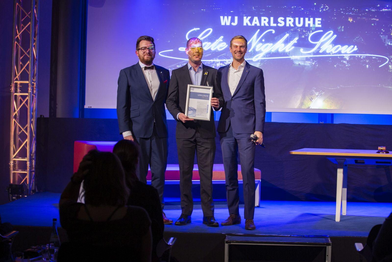JHV 2019 Jahreshauptversammlung in der IHK mit Daniel Stöck und Nicolai Schmittecker Award