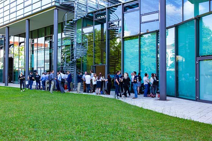 Kongress der jungen Wirtschaft organisiert vom AK Wirtschaft und Gesellschaft bei der after Party