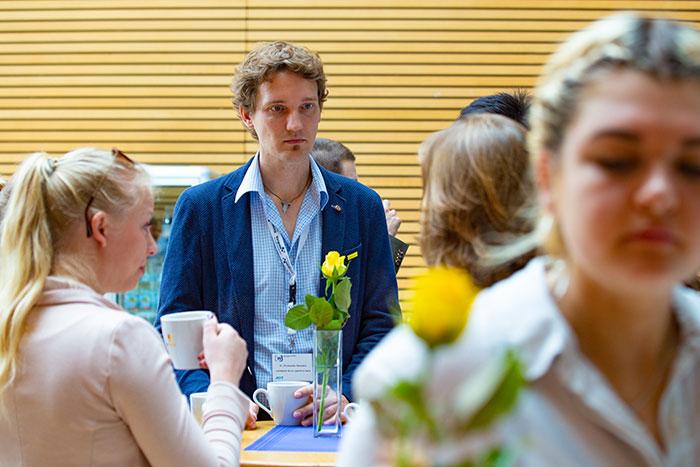 Snacks und Häppchen beim Kongress der jungen Wirtschaft organisiert vom AK Wirtschaft und Gesellschaft