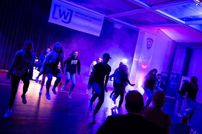 Hip hop Tänzer als Act bei der JCI Senatorenkonferenz 2018 in Karlsruhe Ettlingen