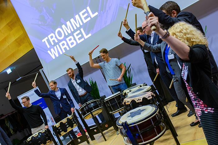 trommelwirble beim be efficient award 2018