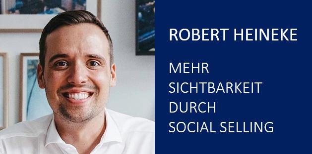 "L.E.A.D. Vortrag Robert Heineke ""Social Selling - so wirst du auf LinkedIn sichtbar"""