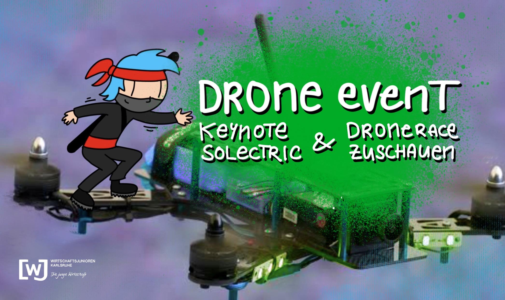 Technologie Drohne - Innovationen, Use Cases und Fliegen im first person view (Zuschauer)