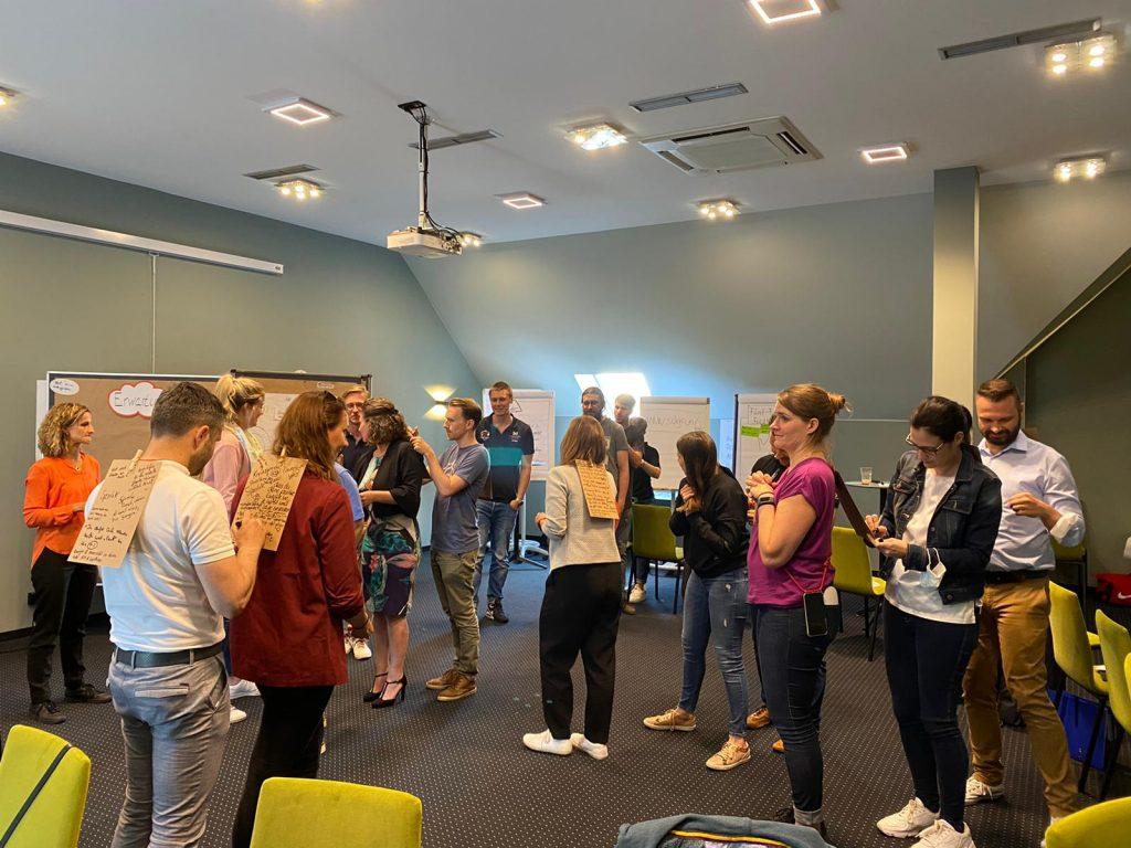 WJD Trainer Seminar in Freiburg - Die Teilnehmer in Aktion