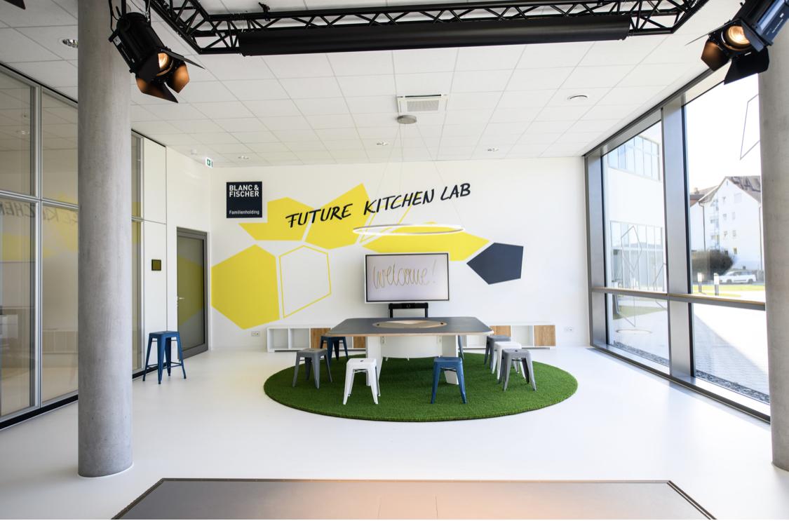 """Jahrespartner Blanc & Fischer """"Future Kitchen Labs"""""""